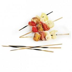 Brochette torsadée bambou L 150 mm (lot de 500)