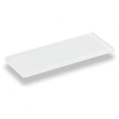 Barrette dégustation blanc 245 x 100 mm