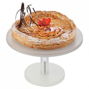 Cake stand white Ø 280 mm H 210 mm