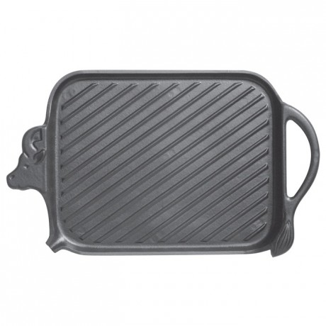 Beef grill cast iron 370 x 220 mm