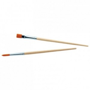 Decorator brushes (2 pcs)