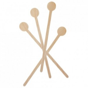 Wood cocktail stirrers (100 pcs)