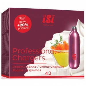 Cartouche chantilly N2O professionnelle 8,4 g (lot de 50)