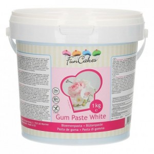 FunCakes Gum Paste White 1kg