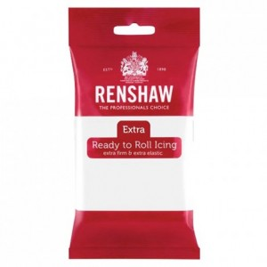 Renshaw Rolled Fondant EXTRA 250 g -White-