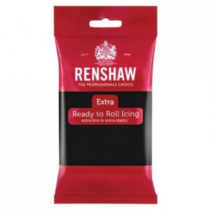 Pâte à sucre Renshaw EXTRA noir 250 g
