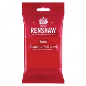 Renshaw Rolled Fondant EXTRA 250 g -Red-