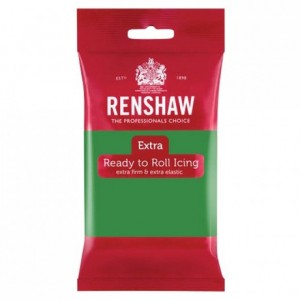 Renshaw Rolled Fondant EXTRA 250 g -Green-