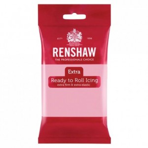 Renshaw Rolled Fondant EXTRA 250 g -Pink-