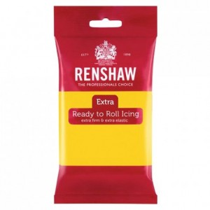 Renshaw Rolled Fondant EXTRA 250 g -Yellow-