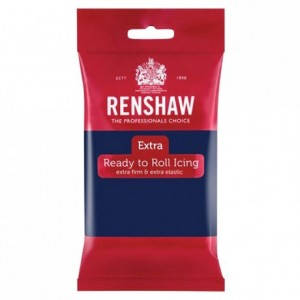 Renshaw Rolled Fondant EXTRA 250 g -Navy Blue-
