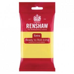Pâte à sucre Renshaw EXTRA jaune pastel 250 g