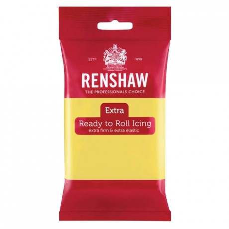 Renshaw Rolled Fondant EXTRA 250 g -Pastel Yellow-
