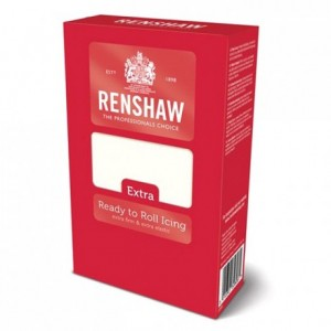 Renshaw Rolled Fondant EXTRA 1 kg -White-