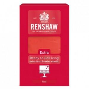 Pâte à sucre Renshaw EXTRA rouge 1 kg