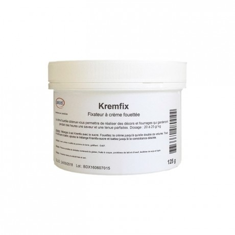 Kremfix stabilisant pour crème fouettée 125 g