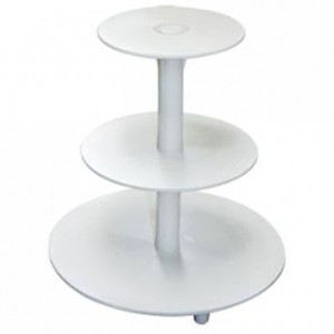 Tiered Cake Stand Plastic 3 tiers