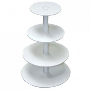 Tiered Cake Stand Plastic 4 tiers