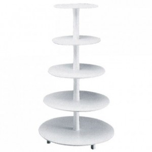Tiered Cake Stand Plastic 5 tiers