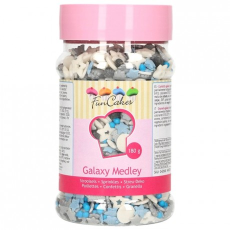 FunCakes Sprinkle Medley Galaxy 180g