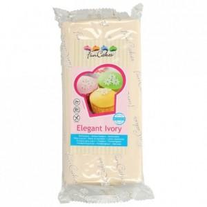 Pâte à sucre FunCakes ivoire 1 kg