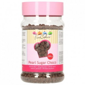 Sucre grains chocolat FunCakes 200 g