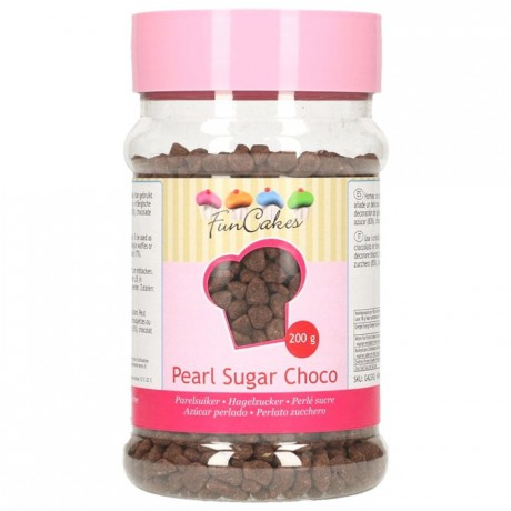 FunCakes Pearl Sugar Choco 200g