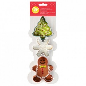 Wilton Cutter Christmas Set/3