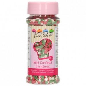 FunCakes Mini Confetti Christmas 60g
