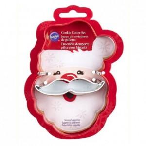 Découpoir Wilton Père Noël avec moustache