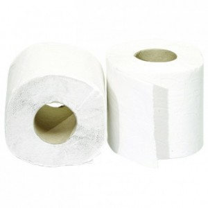 Rouleau de papier hygiénique ouate 20 m (lot de 108)