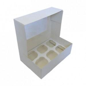 Boîte à cupcakes PastKolor pour 6 cupcakes