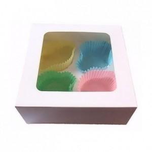Boîte à cupcakes PastKolor pour 4 cupcakes