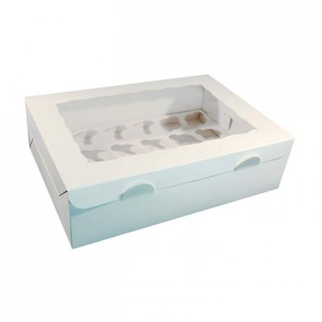 Boîte à cupcakes PastKolor pour 12 cupcakes