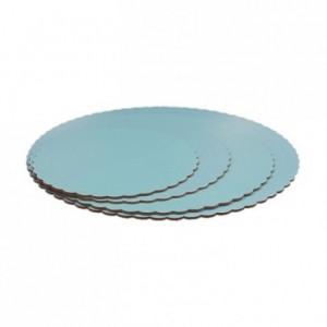 PastKolor cake board blue round Ø35 cm
