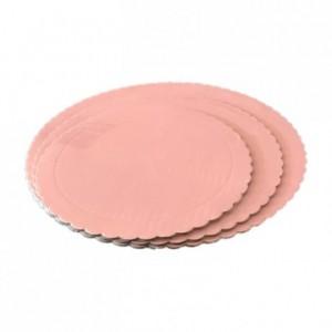PastKolor cake board baby pink round Ø25 cm