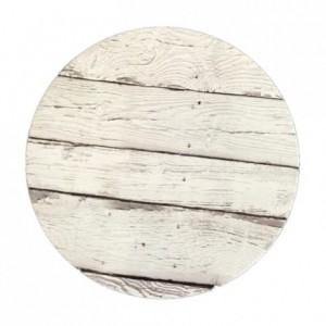 PastKolor cake board clear wood round Ø30 cm