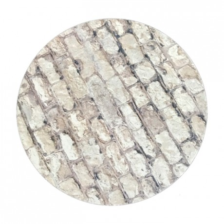 PastKolor cake board stone round Ø25 cm