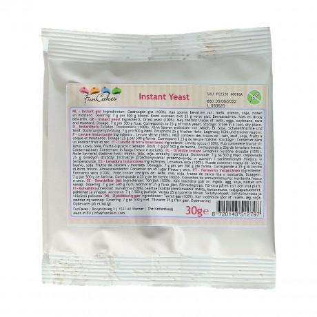 Instant dry yeast FunCakes 30 g