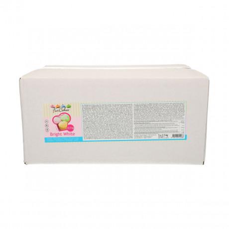 Pâte à sucre FunCakes blanc brillant 12,5 kg