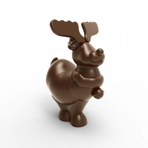 Chocolate mould « Reindeer » 14 cm