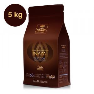 Inaya 65% Q-Fermentation chocolat noir de couverture pistoles 5 kg