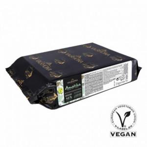 Amatika 46% chocolat vegan de couverture Grand Cru blocs 3 kg