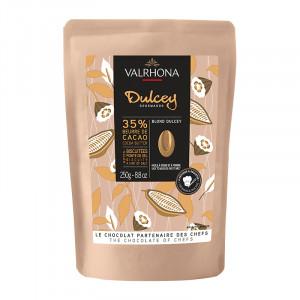 Dulcey 32% chocolat blond de couverture fèves 250 g