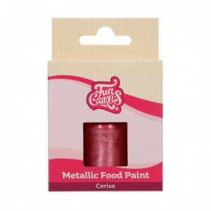 Peinture alimentaire FunCakes Cerise 30 mL