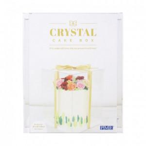 Boîte à gâteau Crystal PME 25 x 25 x 33 cm