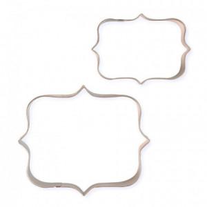 Découpoirs PME plaques à biscuit style 1 2 pièces