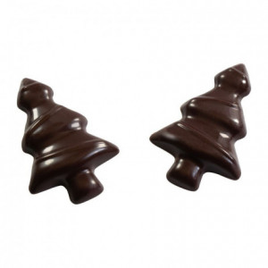 12 mini firs polycarbonate chocolate mold