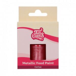 FunCakes Metallic Food Paint Cerise30 ml