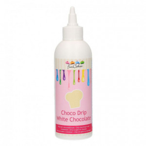 FunCakes Choco Drip White Chocolate 180g